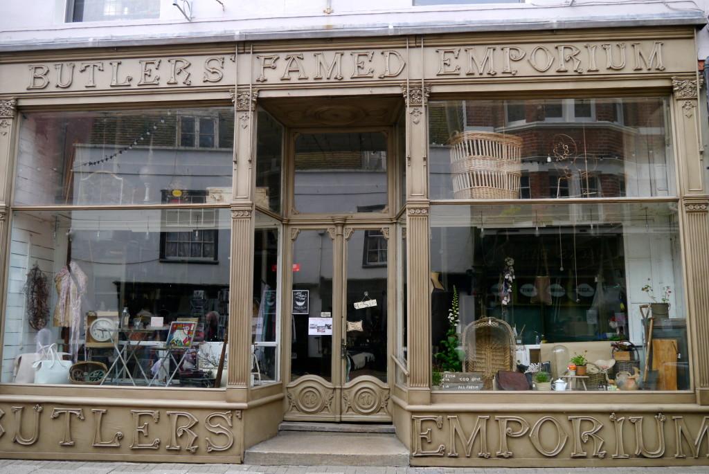 butler's famed emporium