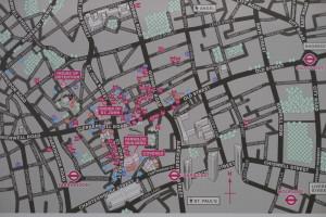 map of clerkenwell