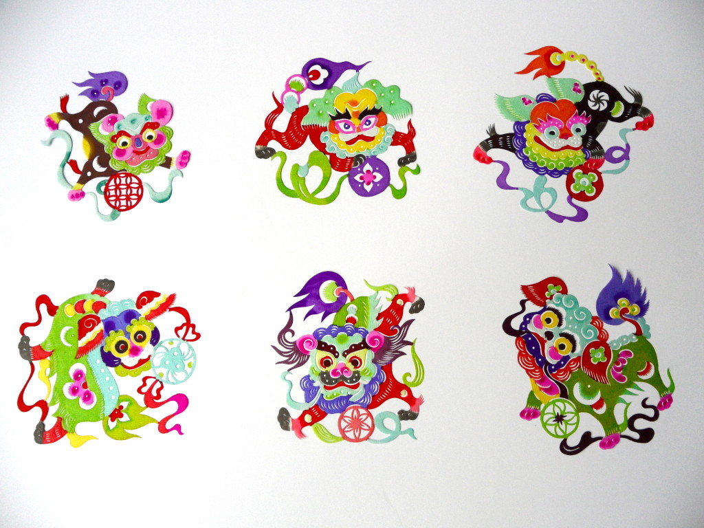 traditional Chinese paper cuts