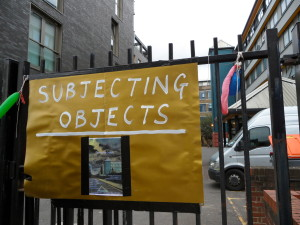subjecting objects