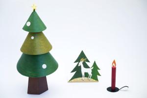 Christmas tree paper craft kit