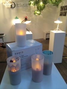 di-classe cuore led candles