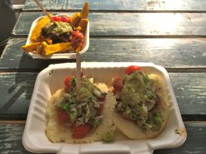 arepa street food