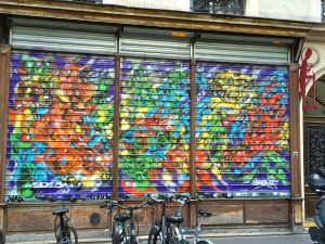 paris graffti