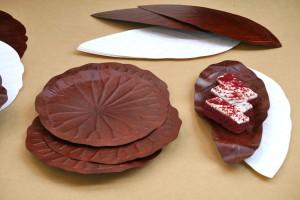 Fallen leaf trays by HyunJoo Kim