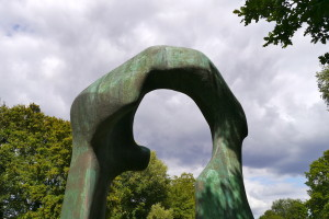 henry moore the arch
