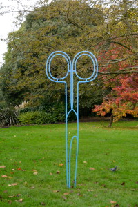 Michael Craig Martin - Scissors (blue)