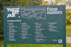 frieze sculpture park