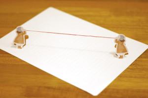 red string letter