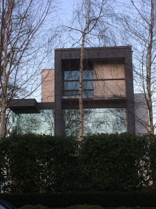A modern house on Keats Grove