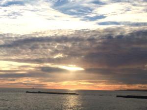 cascais sunset