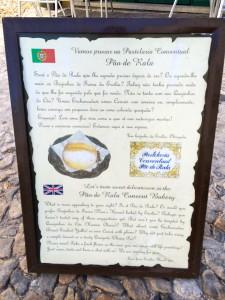 Pastelaria Conventual pão de rala