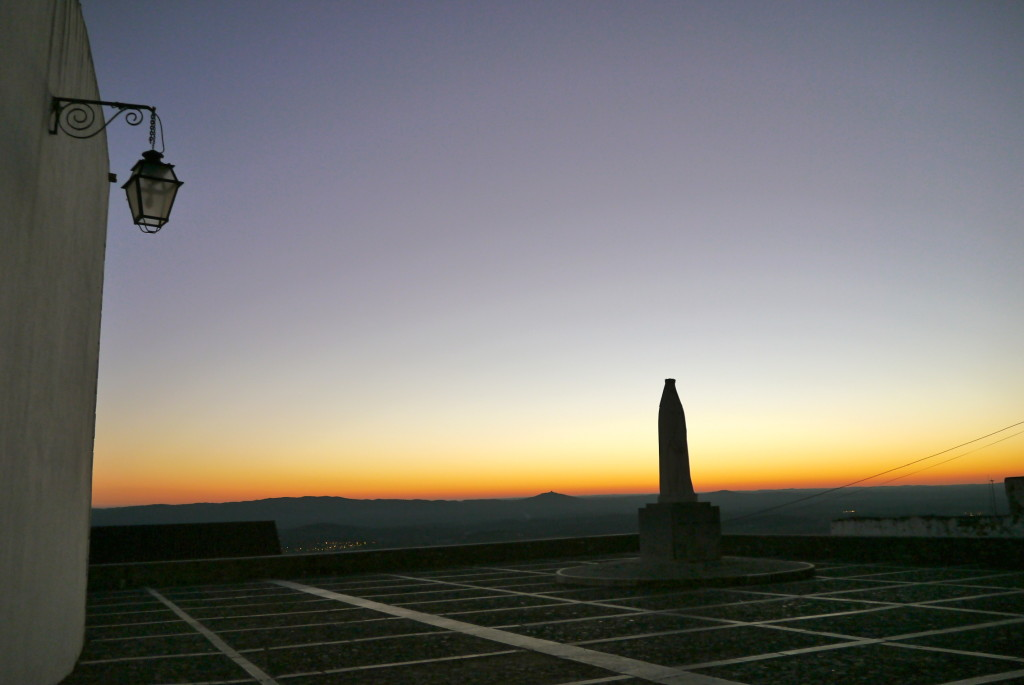 estremoz sunset