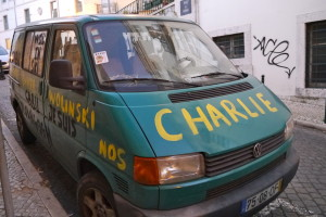 Je suis charlie Lisbon