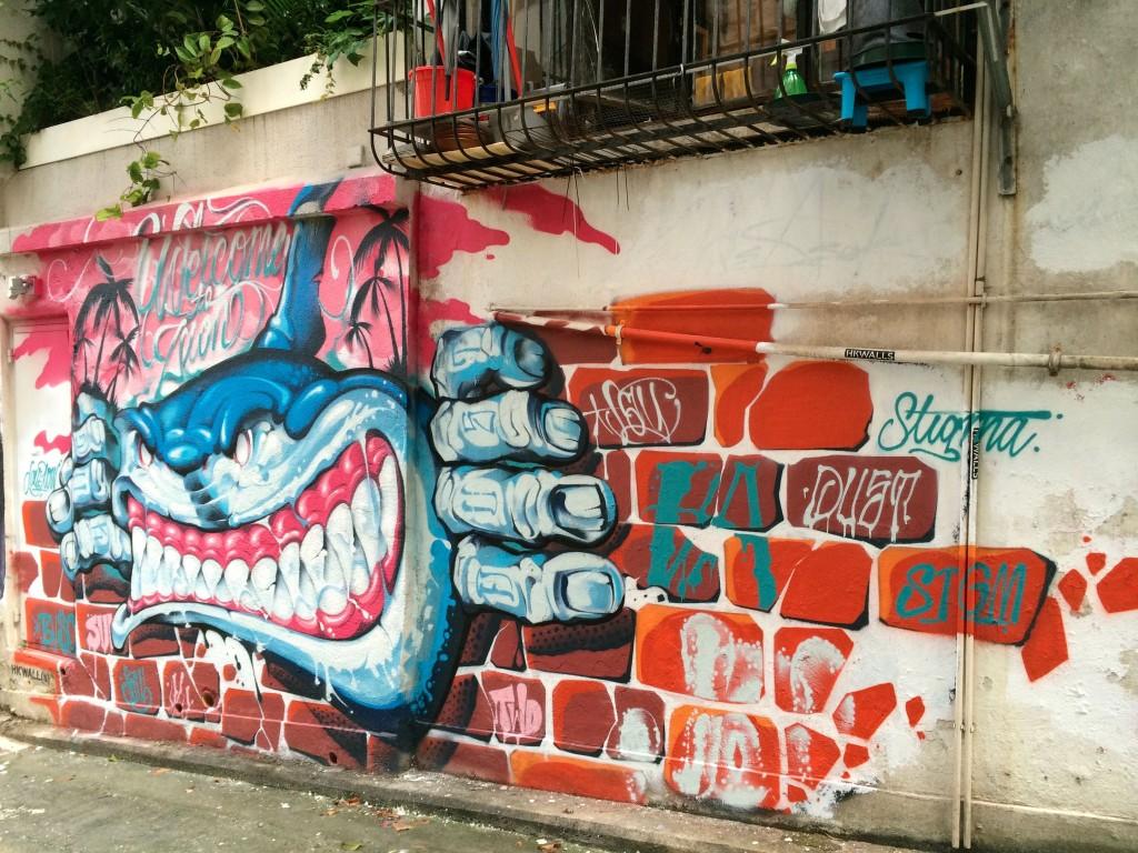 Jay Flow street art