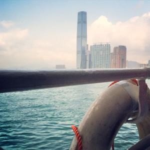 hong kong ferry ride