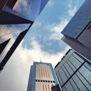 hong kong skyscrapper