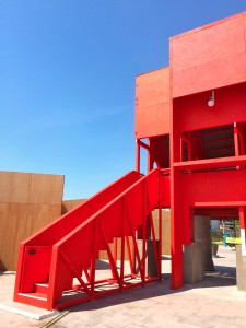 Red Pavilion by TAKA, Clancy Moore and Steve Larkin