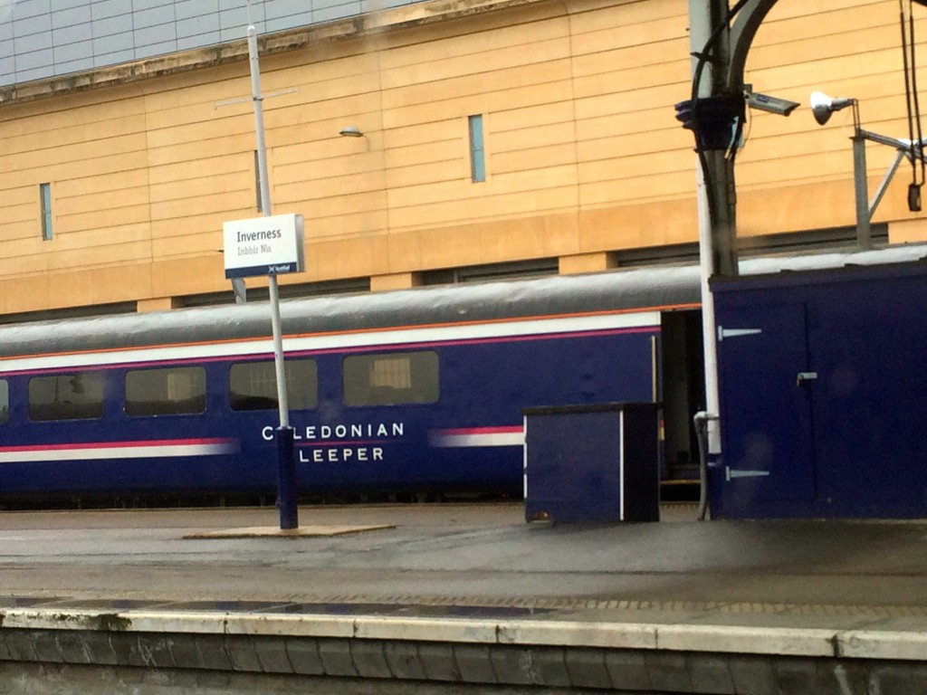 inverness station caledonian sleeper