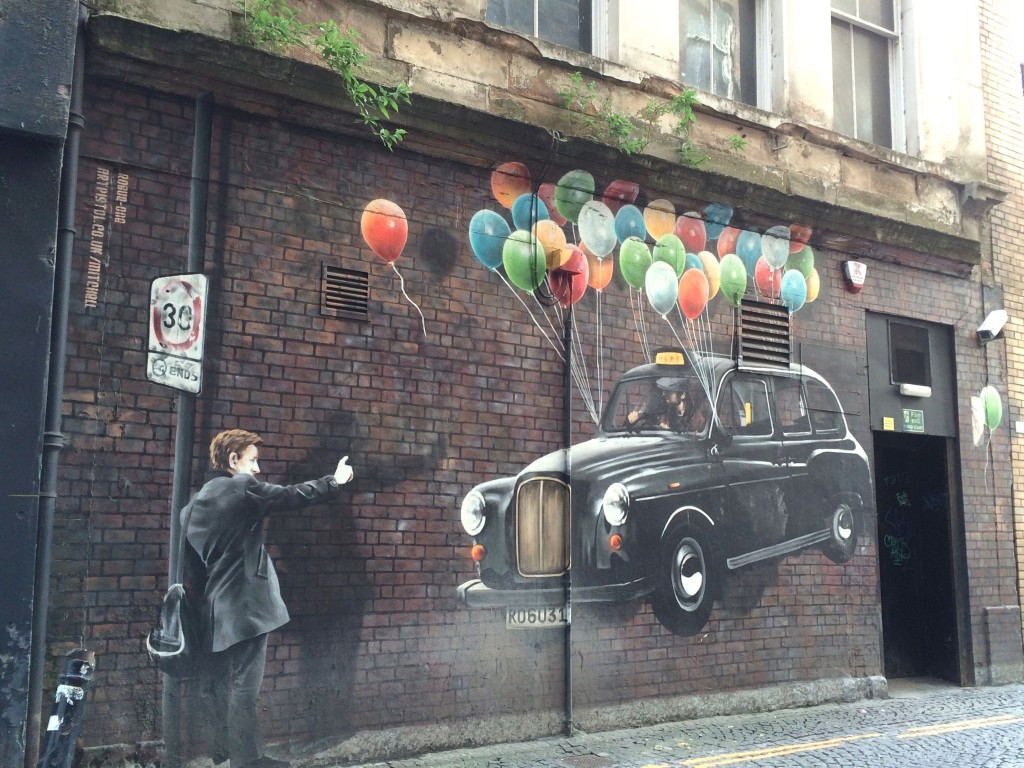 taxi balloons by  Rogue-one