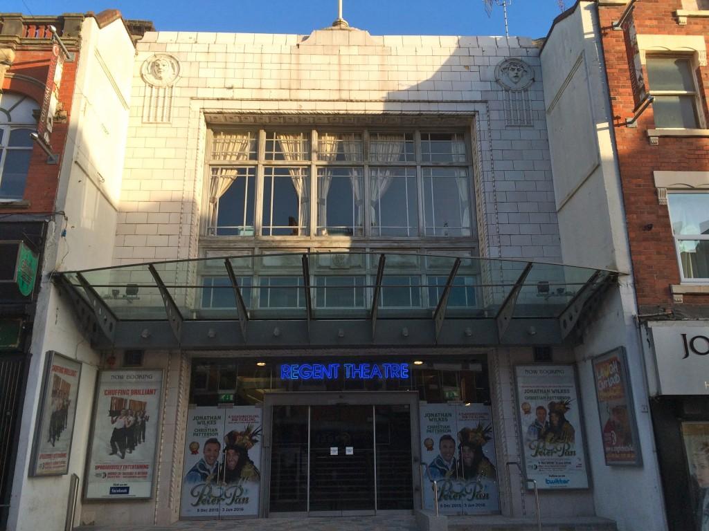 Regent theatre stoke on trent