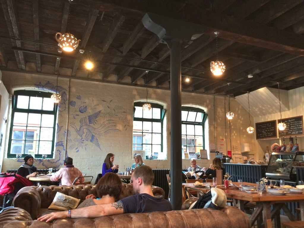 middleport pottery factory cafe