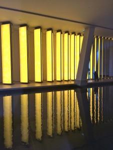 Inside the horizon, Olafur Eliasson's installation
