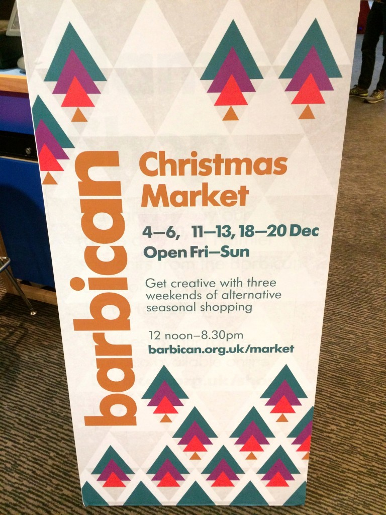 barbican christmas market