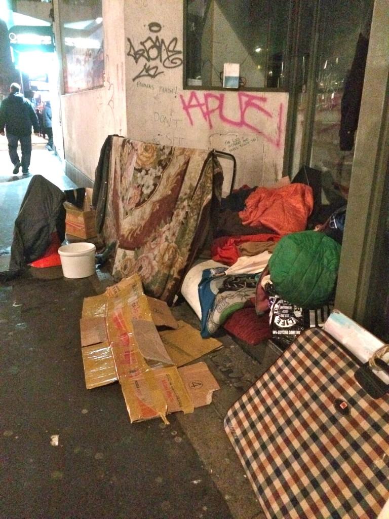 London's homeless
