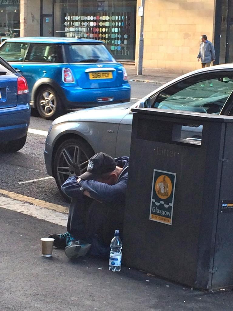 homeless glasgow