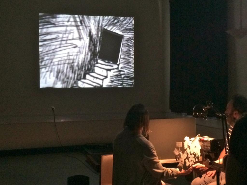 paper cinema workshop