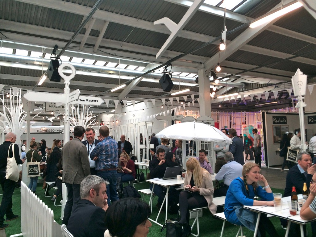 The London coffee festival 2016