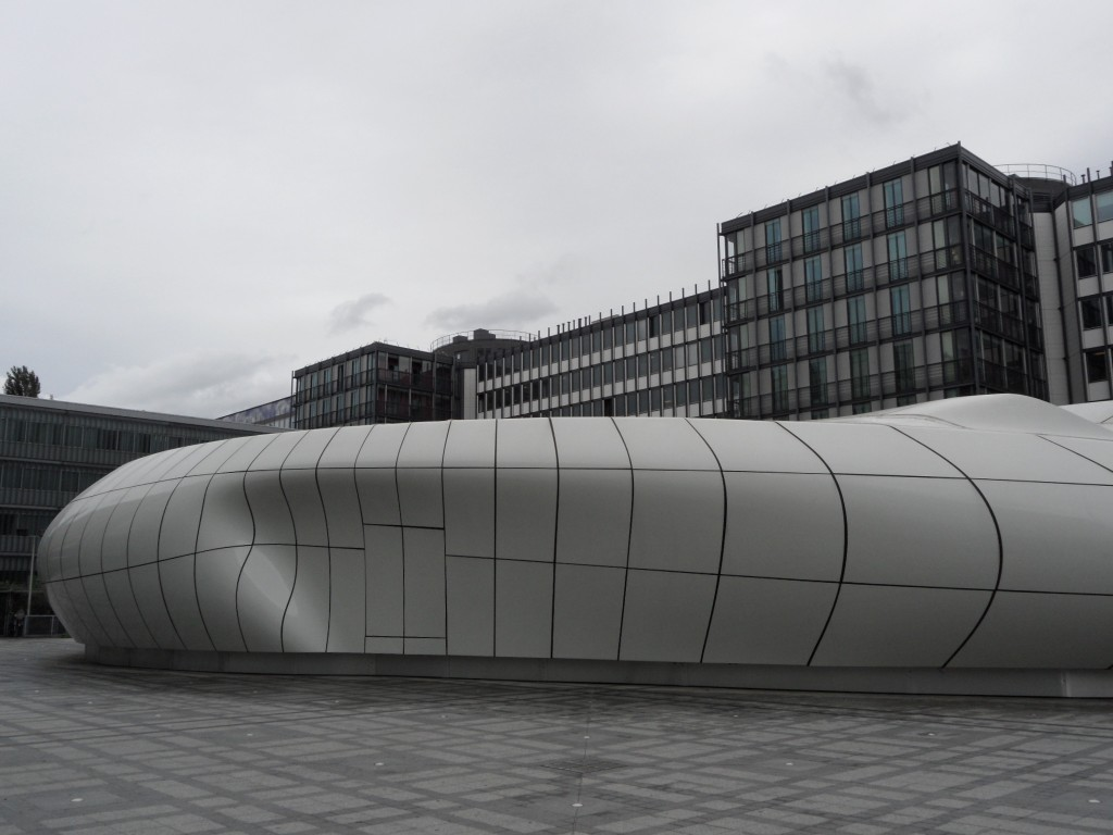 Chanel's mobile gallery by Zaha Hadid