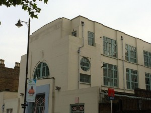 Strand Buildings in Clapton
