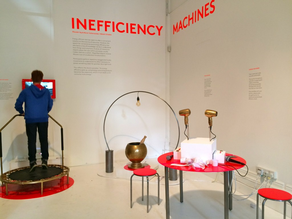 inefficiency machines by waah studio