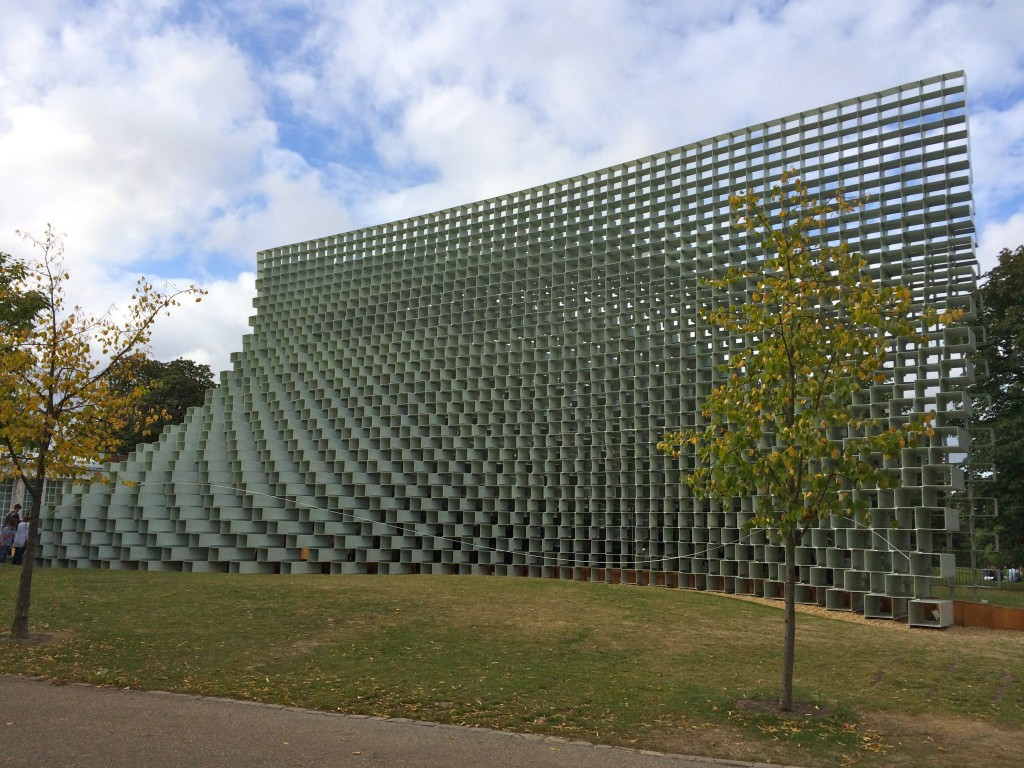 Serpentine Pavilion by Bjarke Ingels Group (BIG)