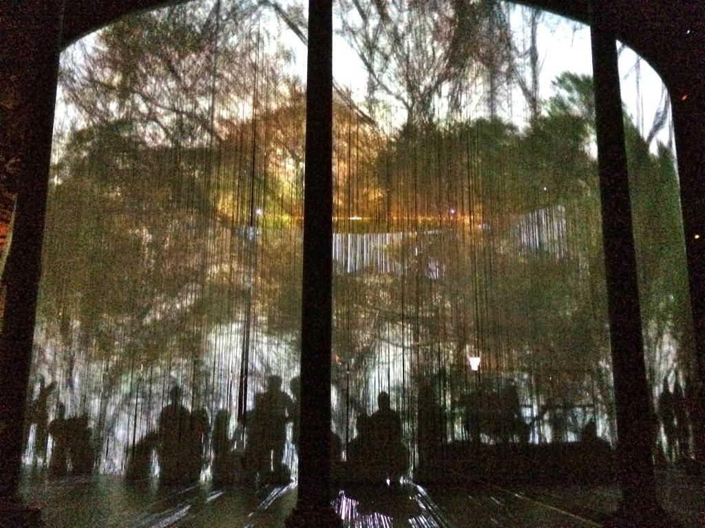 Ron Arad curtain call LCO