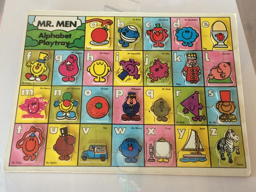 Mr men mini museum