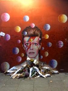 david bowie street art