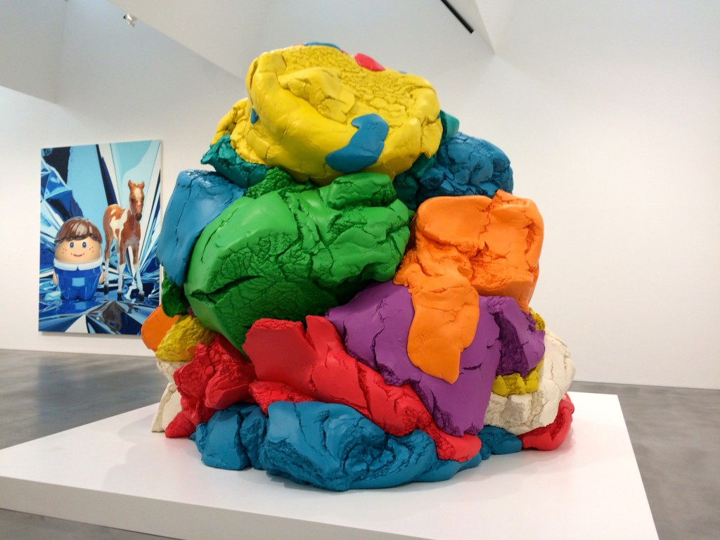 jeff koons Play-Doh