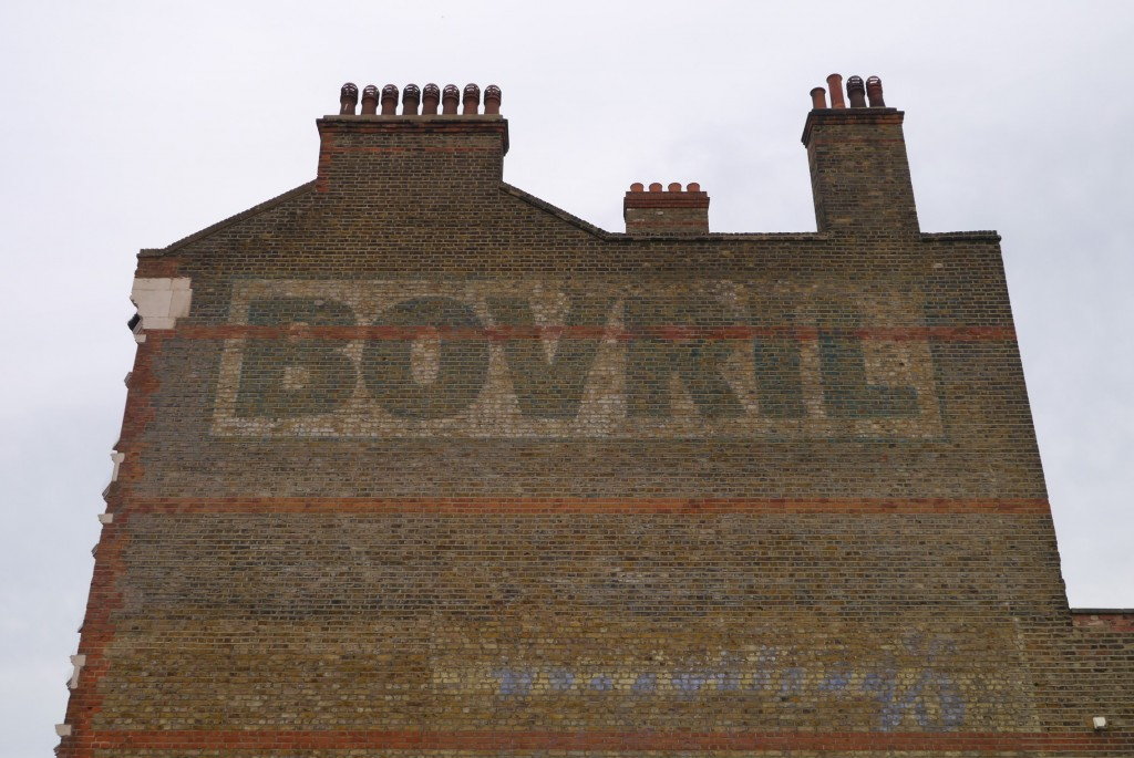 brixton bovril ghost sign