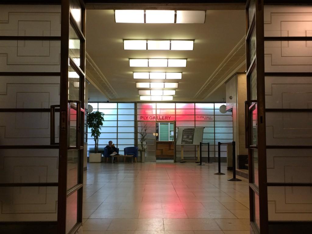 hornsey town hall foyer