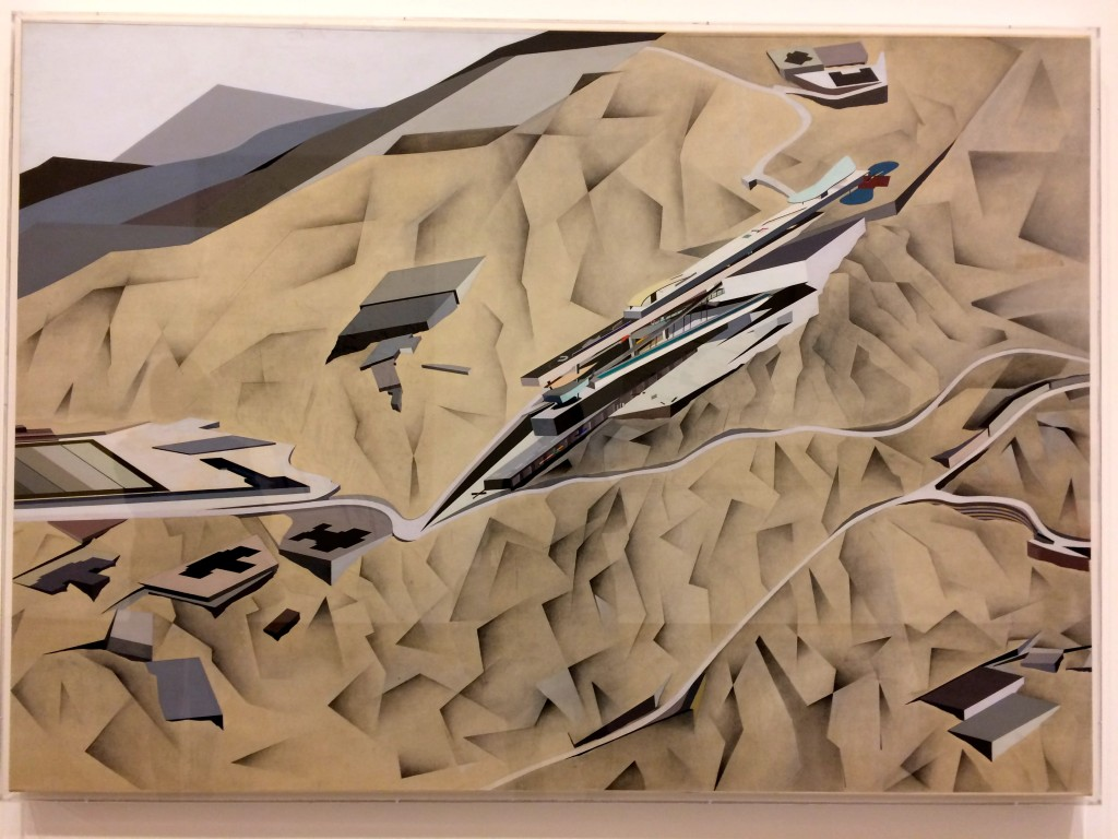 zaha hadid The Peak (1982-83)