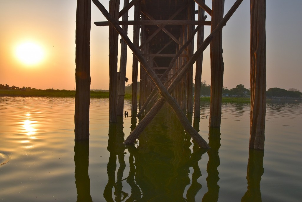 mandalay U Bein Bridge