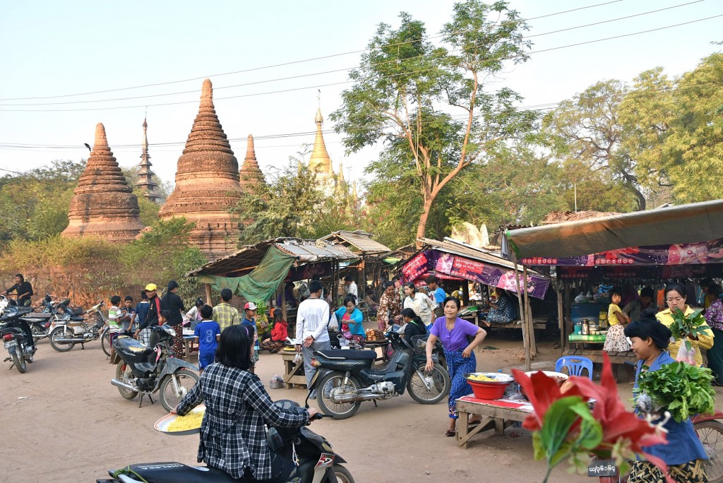 bagan food market