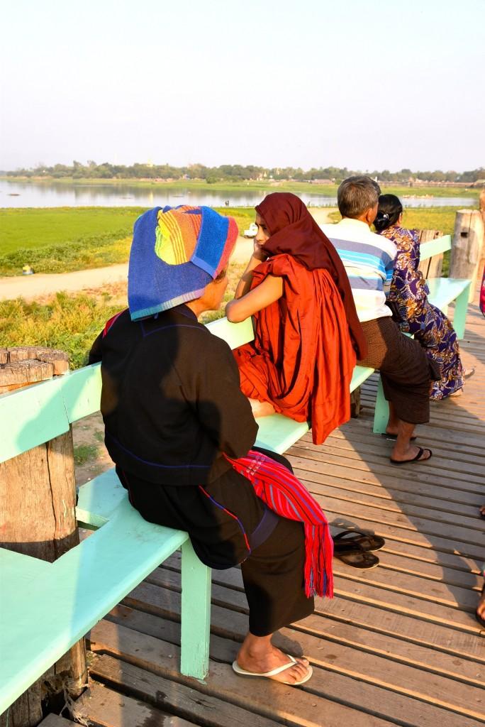 burmese monk