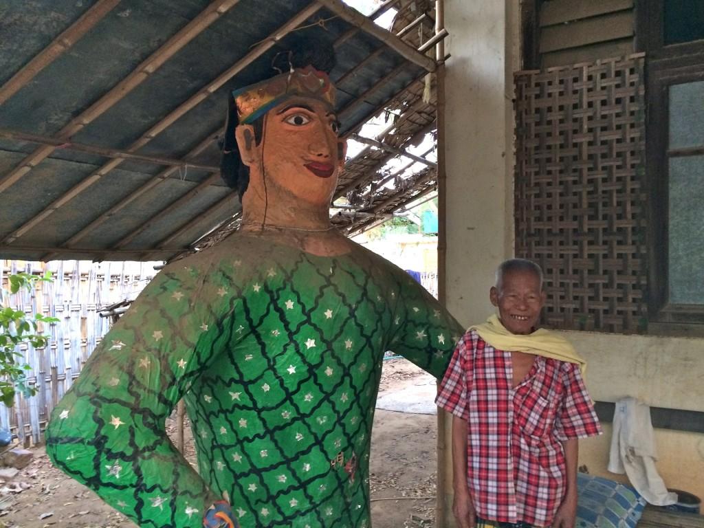 burmese papier mâché maker