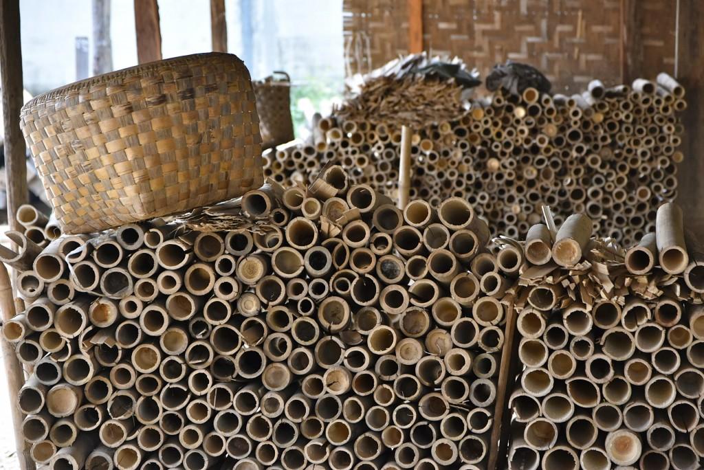 burmese bamboo weaving