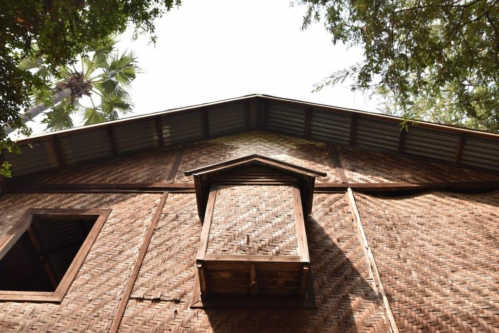 bamboo house Burma