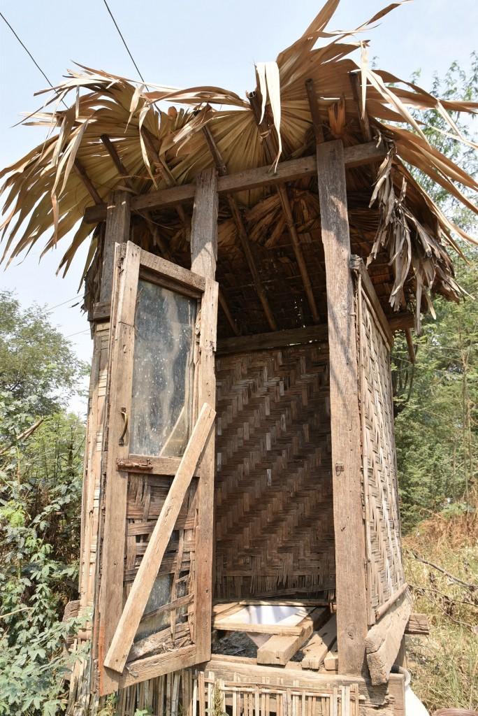 bamboo toilet Burma